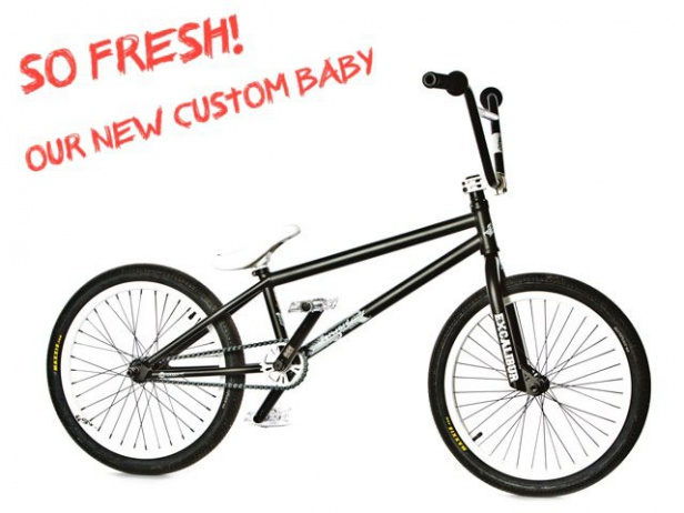 "kunstform?! ""Fat Lady"" Custom BMX Bike"