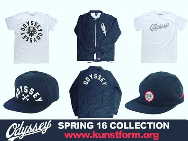 Odyssey BMX Spring 2016 Collection on Stock