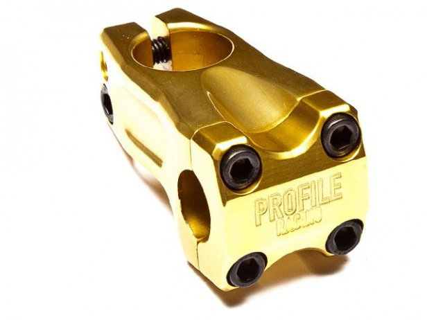 "Profile Racing ""Acoustic"" Frontload Vorbau - Gold"