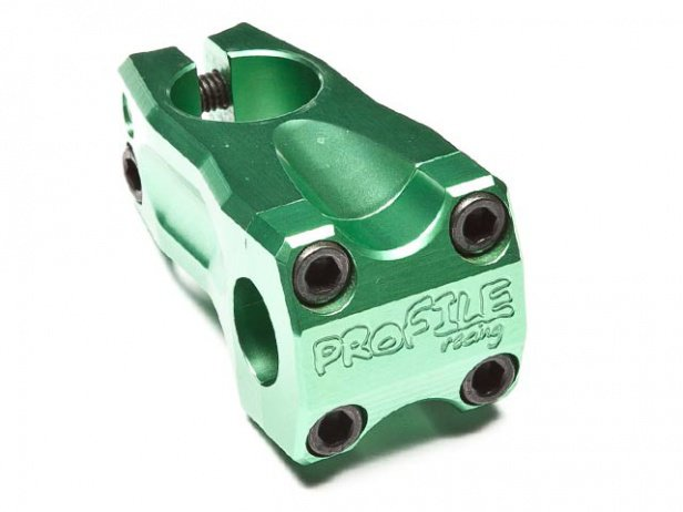 "Profile Racing ""Acoustic"" Frontload Stem - Green"