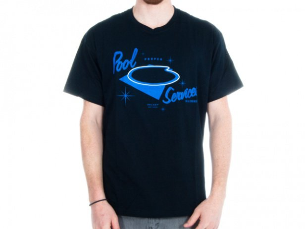 "Proper Bikes ""The Pool"" T-Shirt - Black"