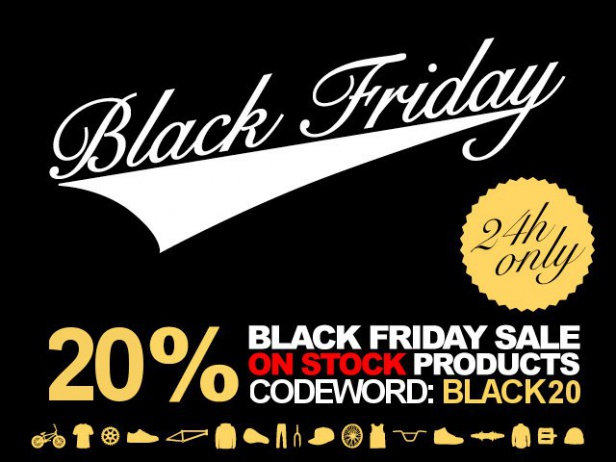 24 hours only- Black Friday with 20% discount!