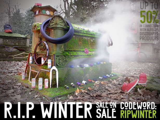R.I.P. Winter! Sale on Sale up to 50% discount!