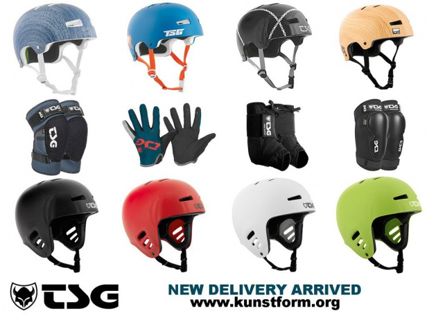 TSG Helmets and Protection arrived