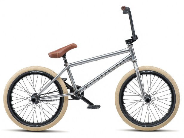 "wethepeople ""Battleship LHD"" 2019 BMX Bike - Brushed Raw 