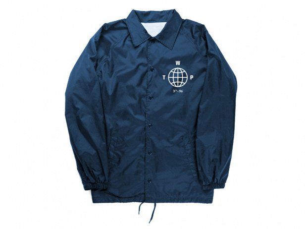 "wethepeople ""Coach"" Windbreaker Jacke - Blue"