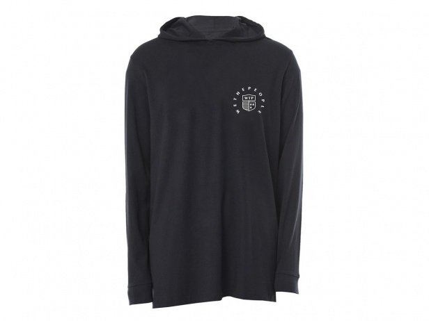 "wethepeople ""Crest"" Hooded Longsleeve - Black"