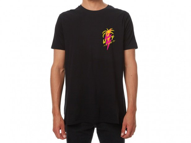 "wethepeople ""Miami"" T-Shirt - Black"