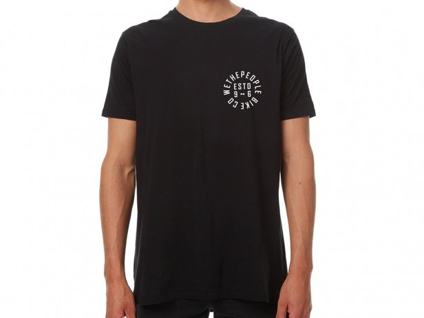"wethepeople ""Pocket Estd 96"" T-Shirt - Black"