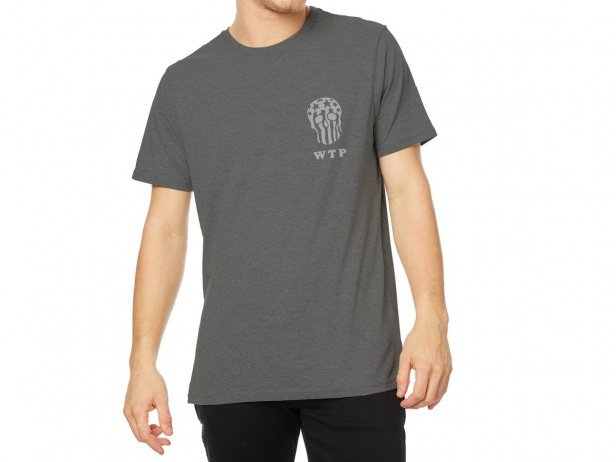 "wethepeople ""Skull"" T-Shirt - Grey"