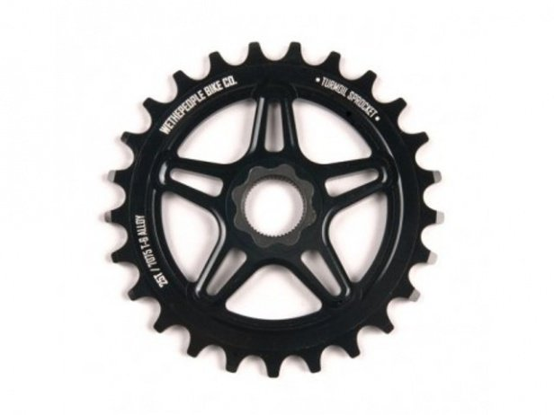 "wethepeople ""Turmoil"" Spline Drive Sprocket - 19mm Spline Drive"