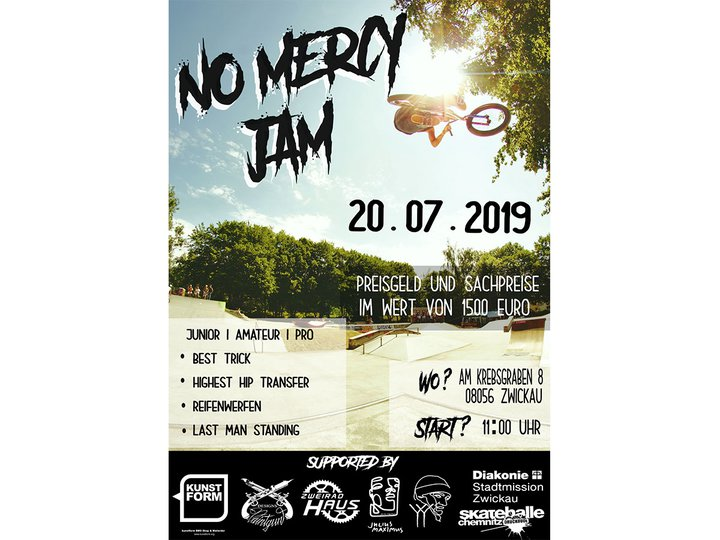 BMX Event -  No Mercy BMX Jam 2019