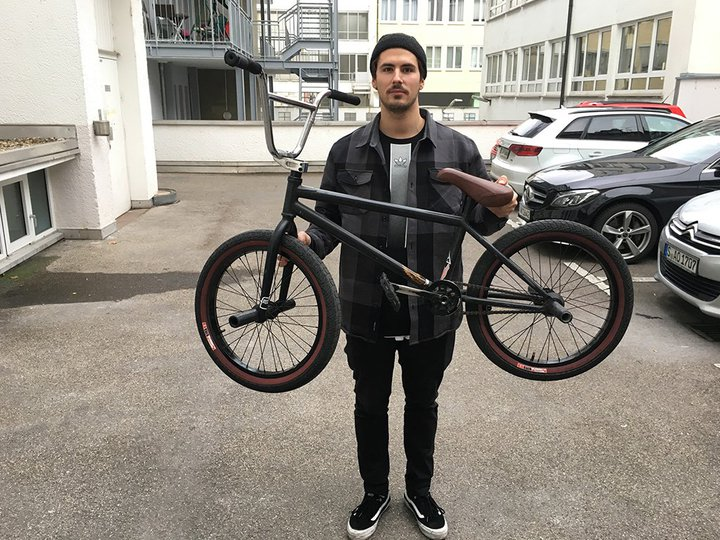 Arthur Biedermann - Bike Check 2018