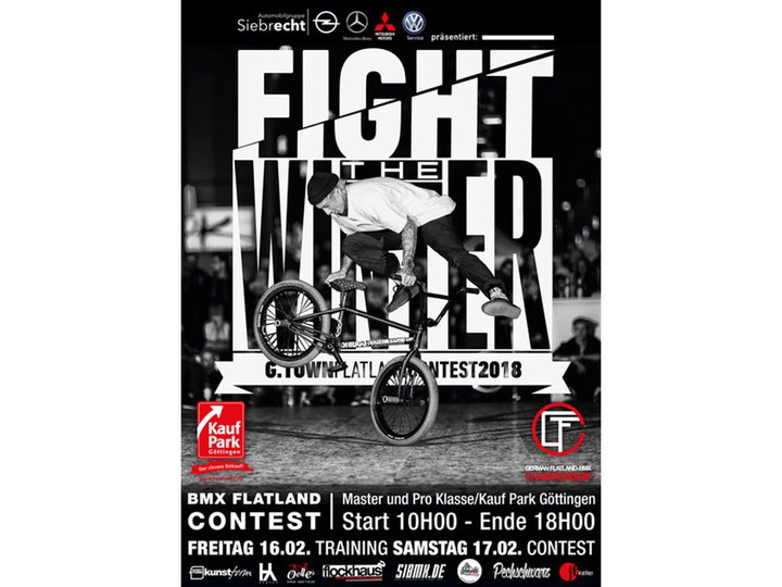 Fight the Winter 2018 Flatland-BMX Contest