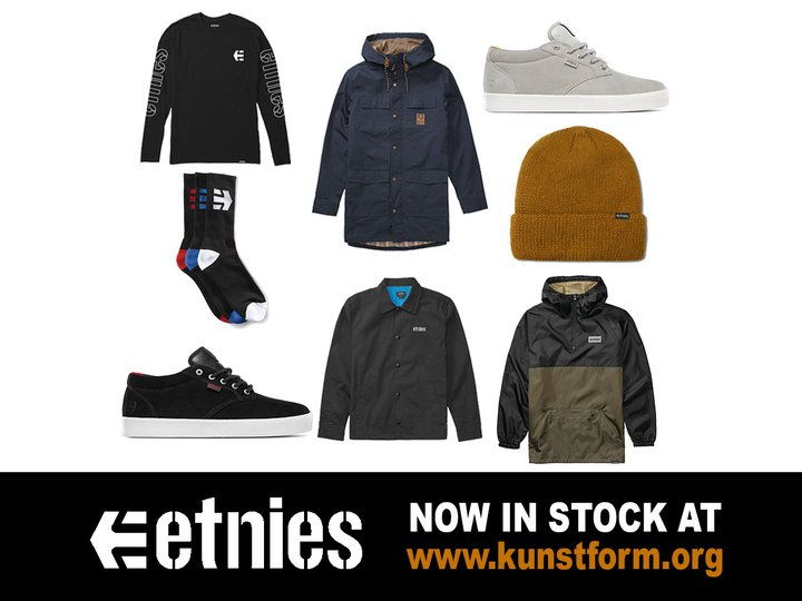 Etnies Fall 2018 - In stock!