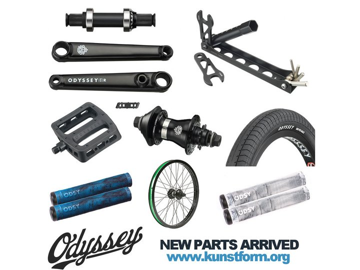 Odyssey BMX 2017 BMX Parts arrived!