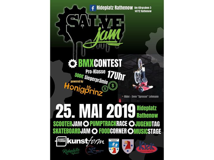 BMX Event: Rathenow Salvejam 2019
