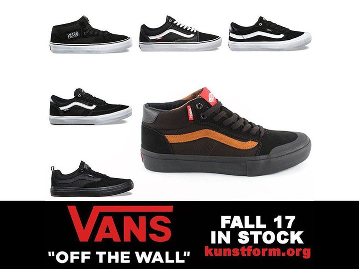 "Vans ""OFF THE WALL"" Fall 17 Collection"