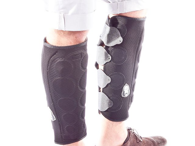 King Kong BMX Peg Leg Knee Shin Combo Guard Pair