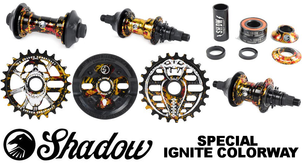 Shadow 2017 Special - Ignite Colorway