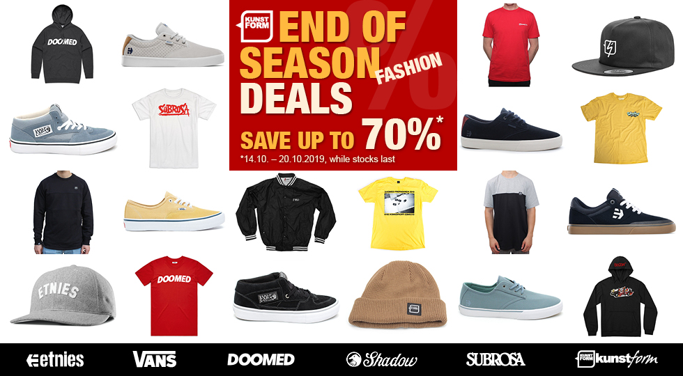 BMX Fashion - End Of Season Deals - Save up to 70%