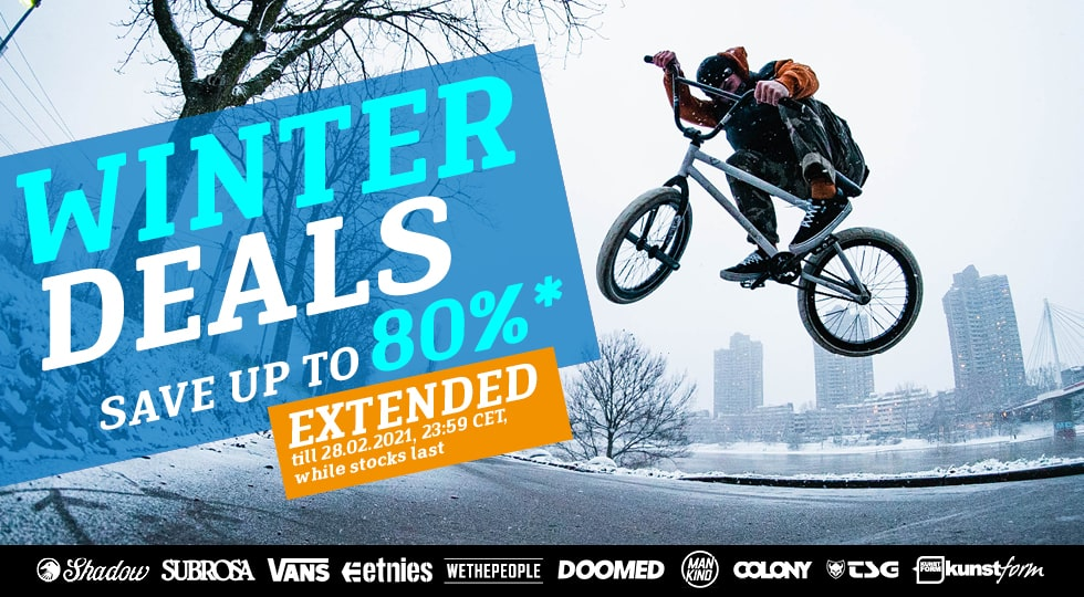 Winter BMX Sale - Extended