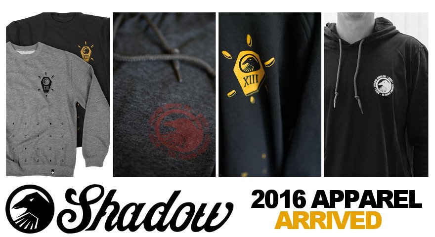 Sunday 2016 BMX Sale / Subrosa 2017 BMX / Shadow Apparel