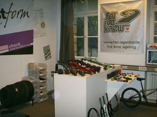 erste BMX Shop in der Heilbronner Str.