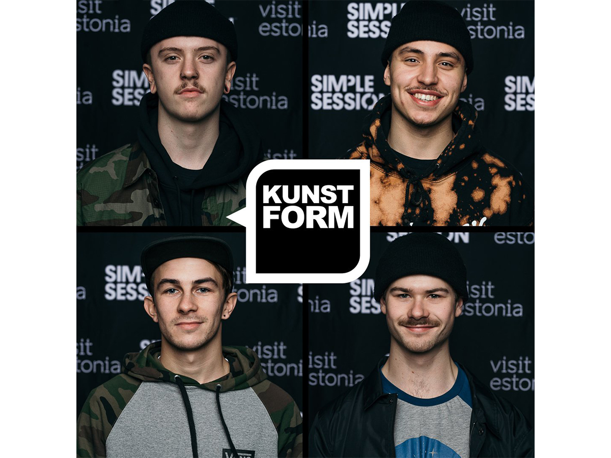 kunstform BMX Shop Team bei Simple Summer Session 2018