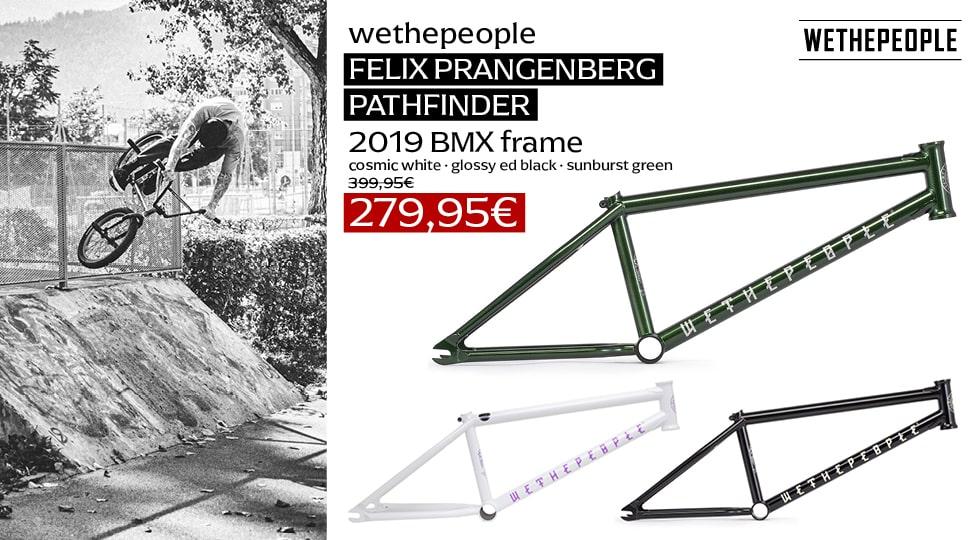 wethepeople Pathfinder Felix Prangenberg 2019 BMX Rahmen Sale