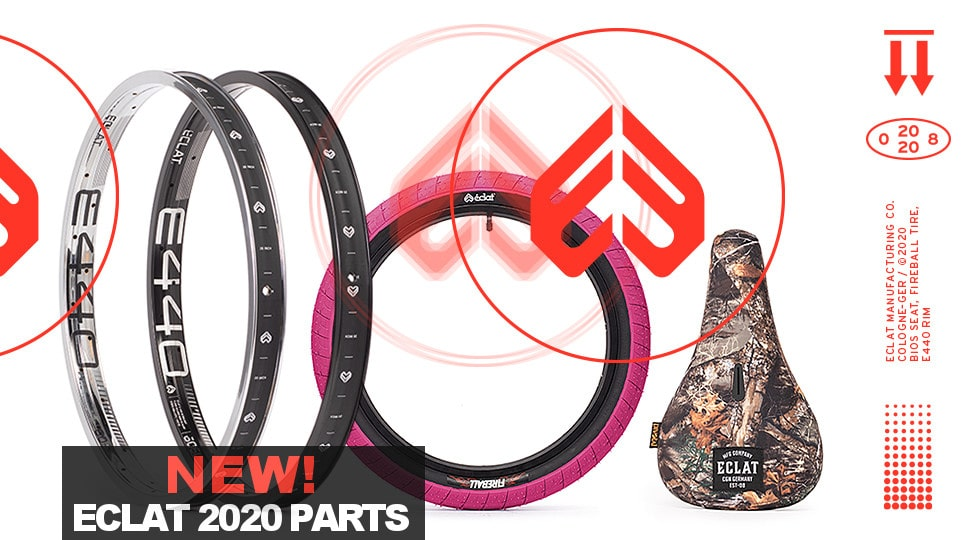 New eclat BMX 2020 BMX products now in stock