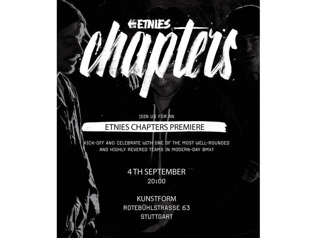 etnies chapters Video Premiere - Stuttgart