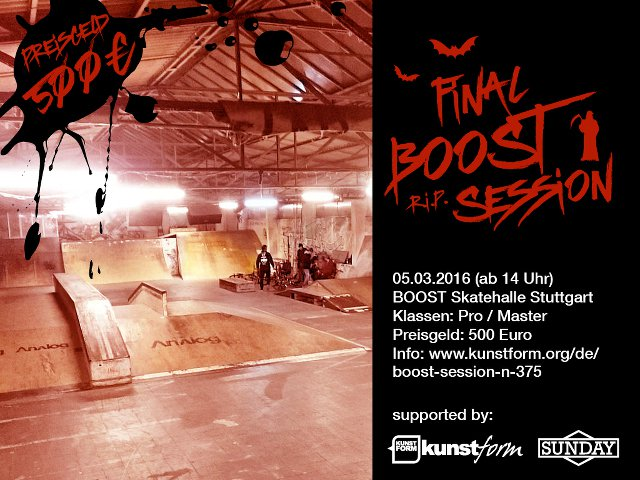 the final BOOST Session