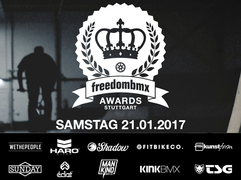 freedombmx Awards 2016 X Stuttpark BMX Session