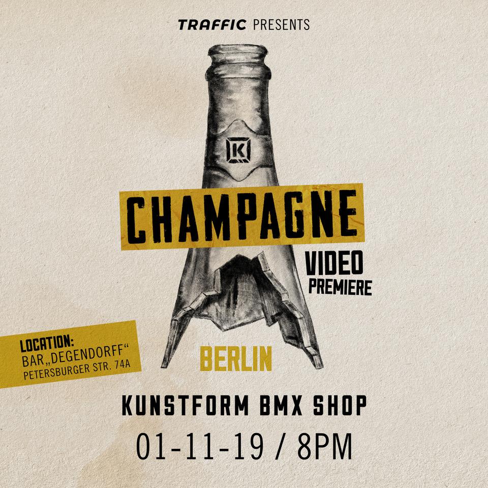 Kink Champagne Videopremiere - Berlin