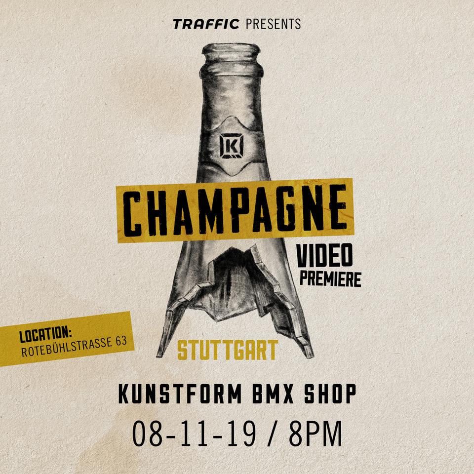 Kink Champagne Videopremiere - Stuttgart