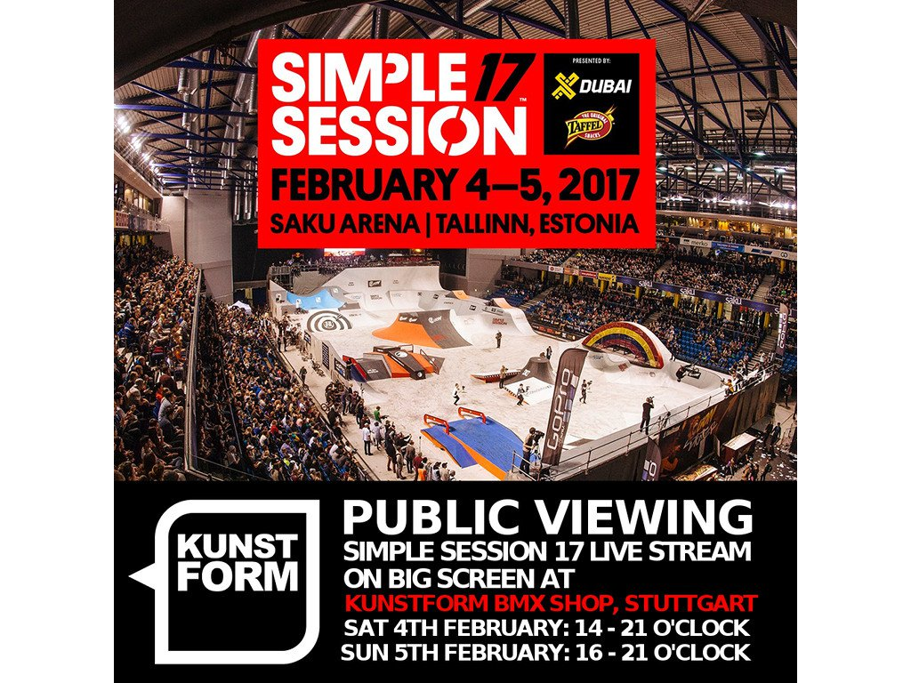 Simple Session 17 - Public Viewing, Stuttgart