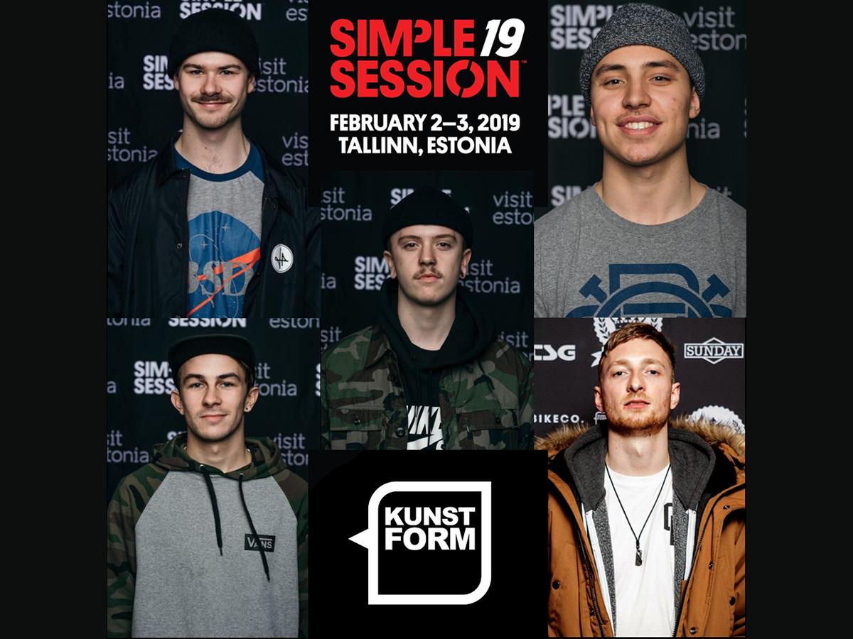 kunstform BMX Shop Team bei Simple Summer Session 2019