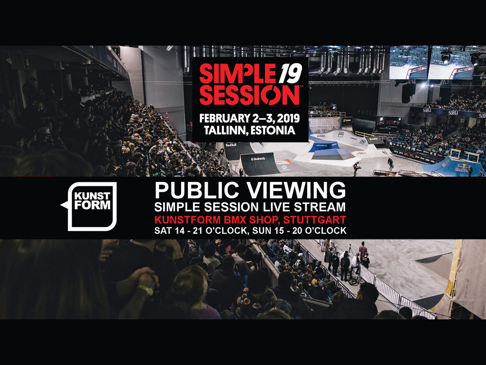 Simple Session 19 - Public Viewing, Stuttgart