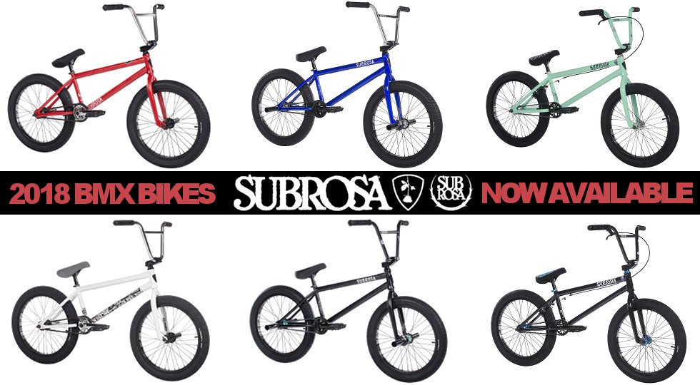 Subrosa 2018 BMX / Federal Apparel 2017 / Haro Oldschool