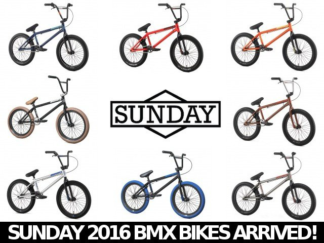 End of Season Sale / Fiend BMX / Sunday 2016 BMX