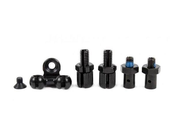 Salt BMX Gyro Kit Gyro Plate /& Detangler BLACK Includes Cables