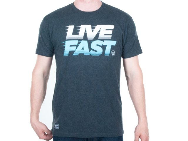 stay strong live fast t shirt kunstform bmx shop