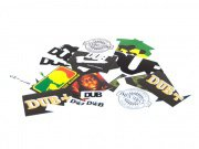 "DUB BMX ""2012"" Stickerset"