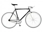 "Foffa ""Prima"" 2011 Fixed Gear Bike black/white"