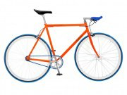 "Foffa ""Prima"" 2011 Fixed Gear Bike orange/blue"