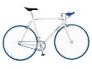 "Foffa ""Prima"" 2011 Fixed Gear Bike white/blue"