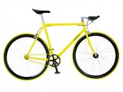 "Foffa ""Prima"" 2011 Fixed Gear Bike yellow/black"