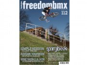 "FreedomBMX ""Issue #112"" + kunstform poster"