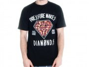 "Pyknic ""Pizza Diamond"" T-Shirt"